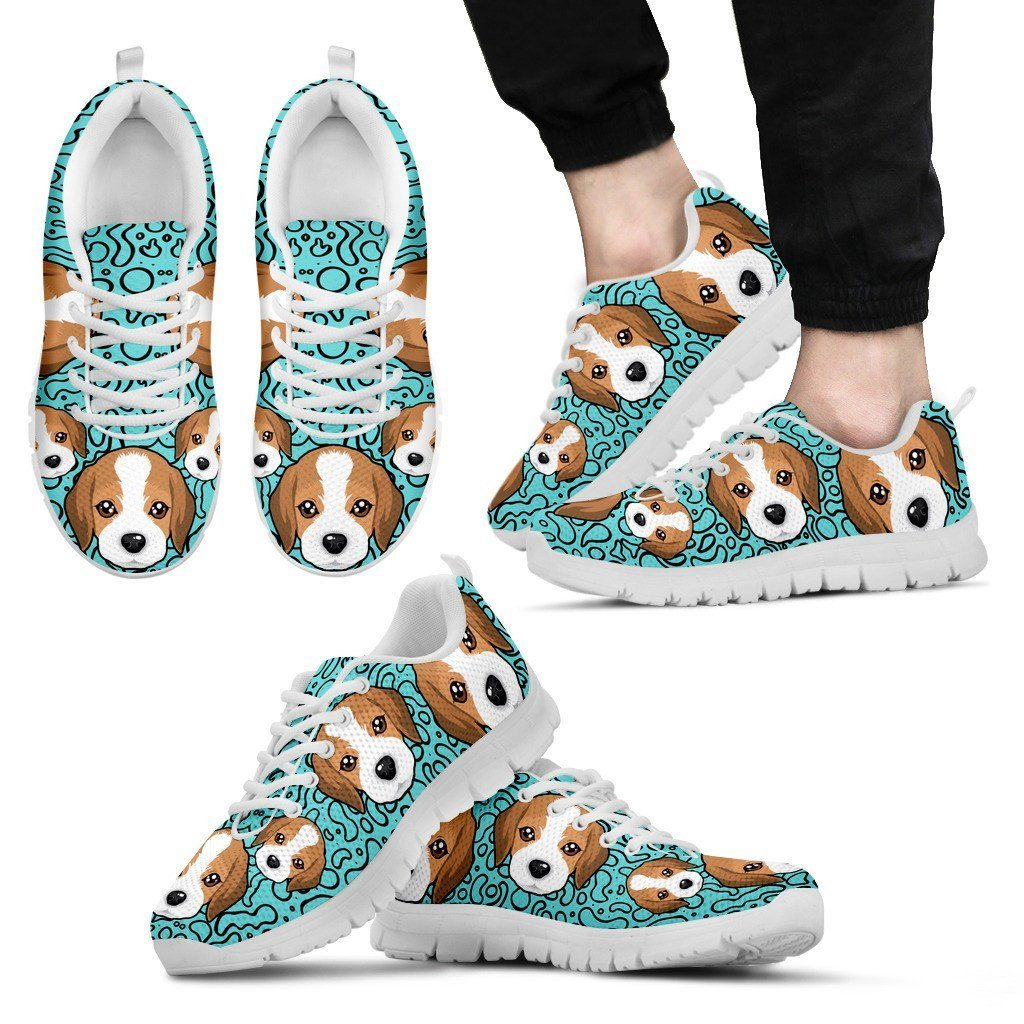 Beagle Puppy Sneakers - ONLINEPRESALES