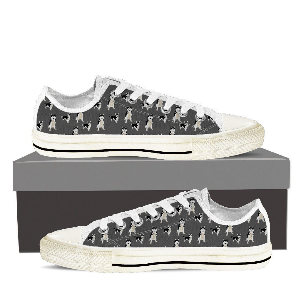 Husky 2 Print Low Tops Shoes Available in Men's and Women's Sizes