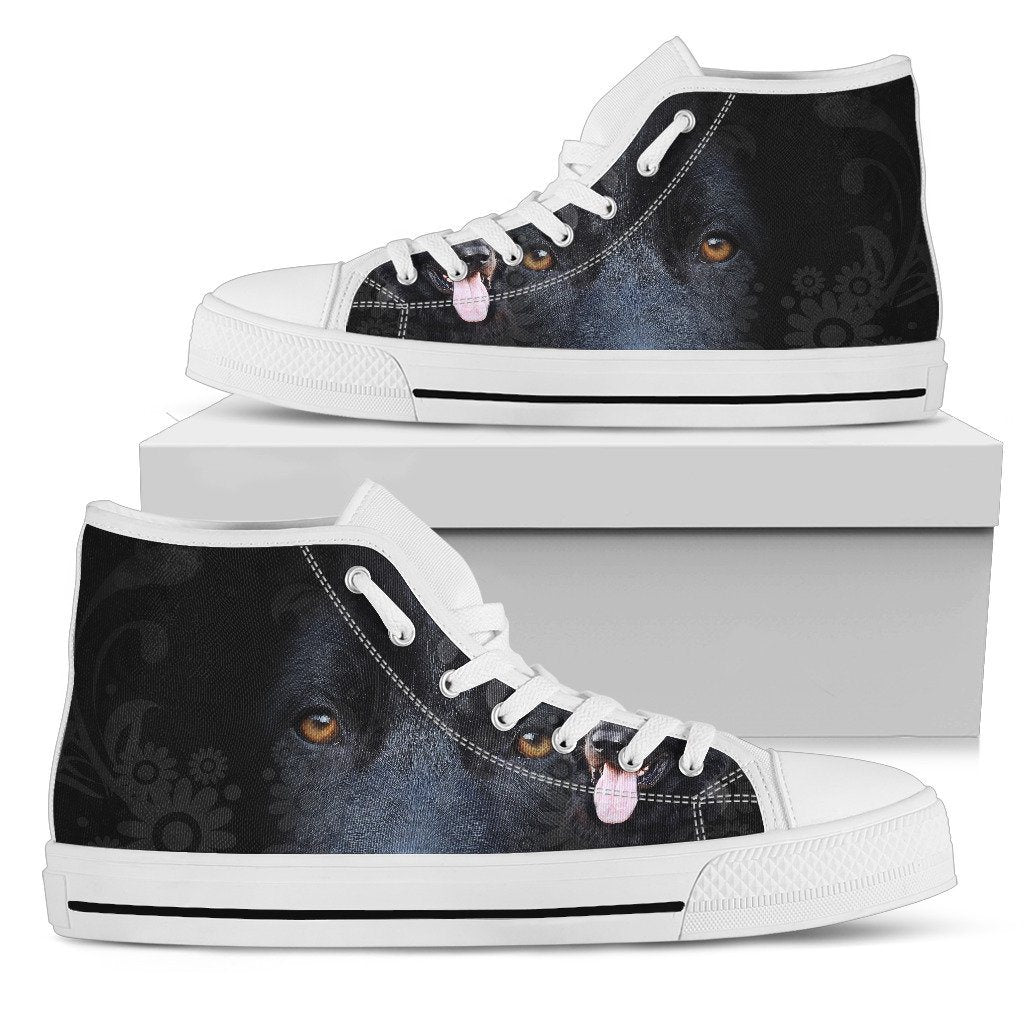 BLACK GERMAN SHEPHERD HIGH TOP
