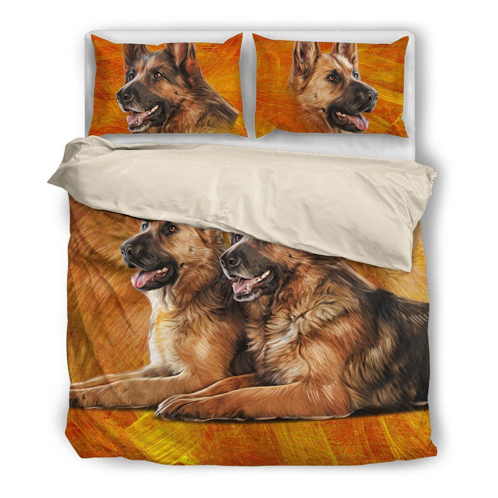 GERMAN SHEPHERD 5 BEDDING SET(FREE SHIPPING + 2 MATCHING COVERS)