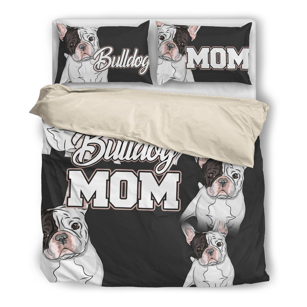 Bulldog Mom Bedding Set (Free Shipping + 2 Matching Covers) - ONLINEPRESALES