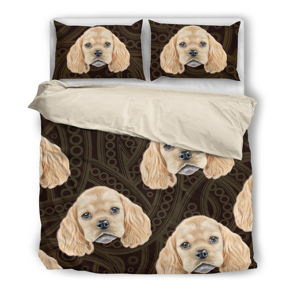American Cocker Spaniel Bedding Set