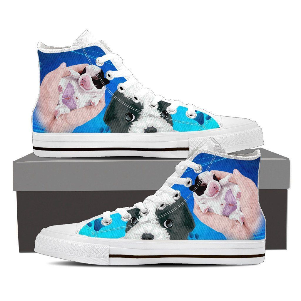 Cava -Tzu Baby Print High Tops Shoes Available in Men's and Women's Sizes
