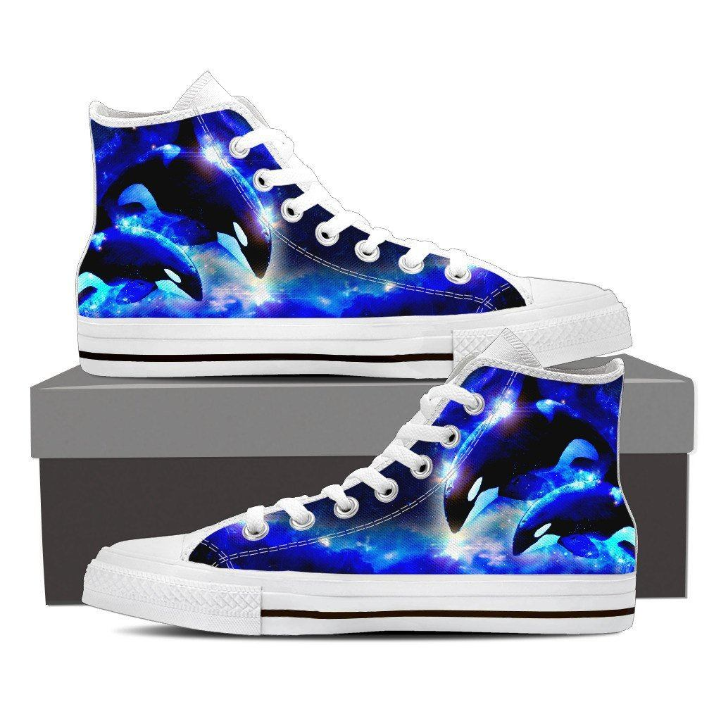 Orca 2 Print High Tops Shoes Available in Men's and Women's Sizes