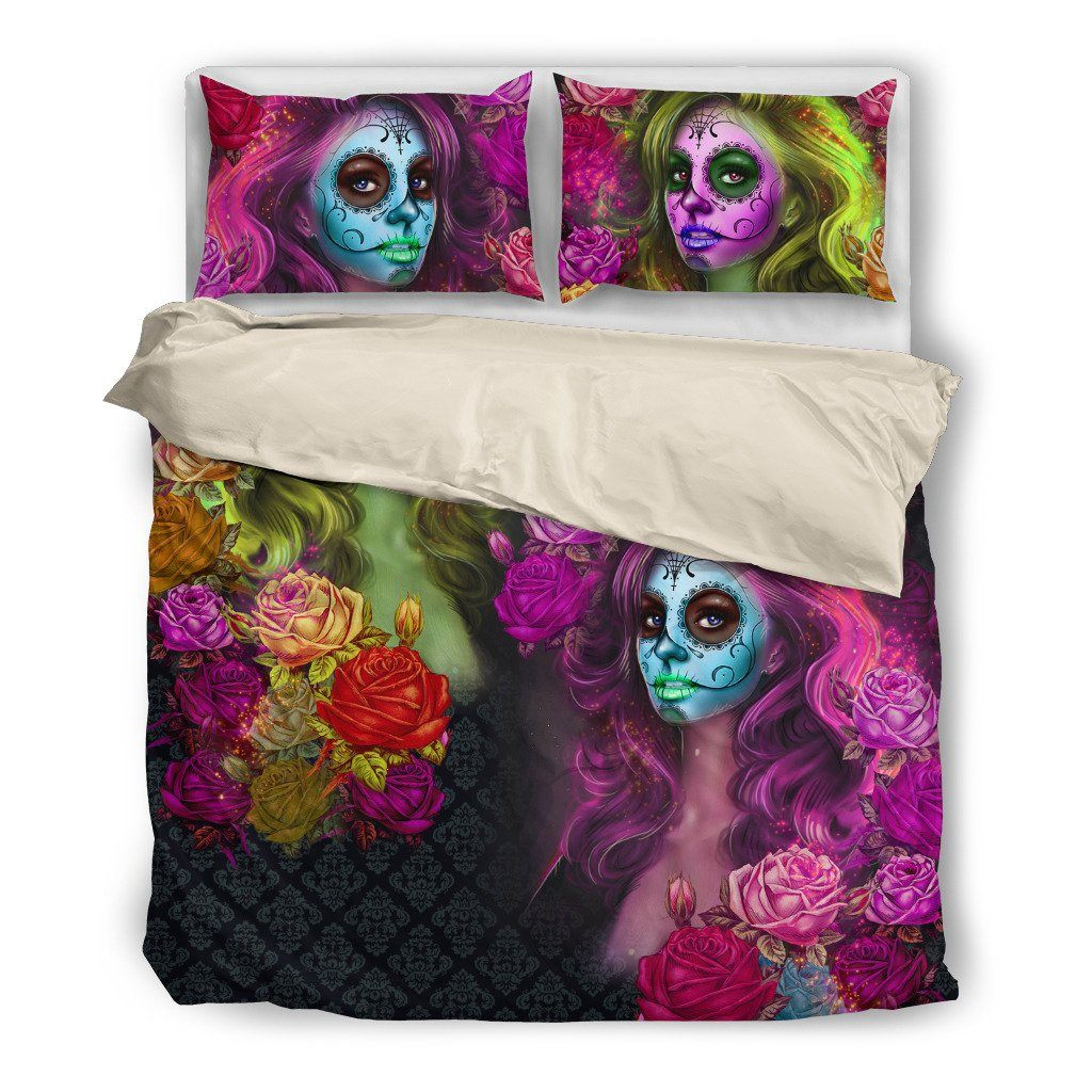 Calavera Bedding Set (Free Shipping + 2 Matching Covers) - ONLINEPRESALES