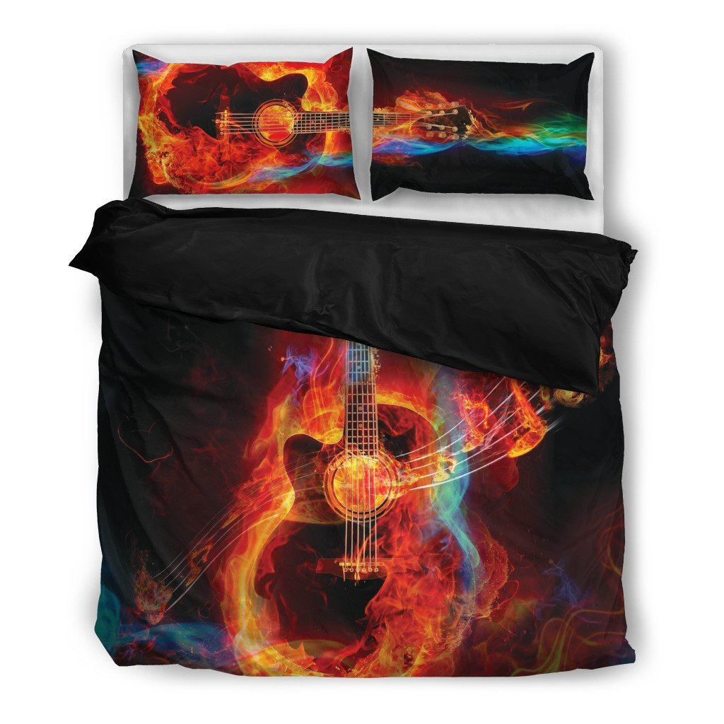 Guitar Lover Bedding Set(Free Shipping + 2 Matching Covers)