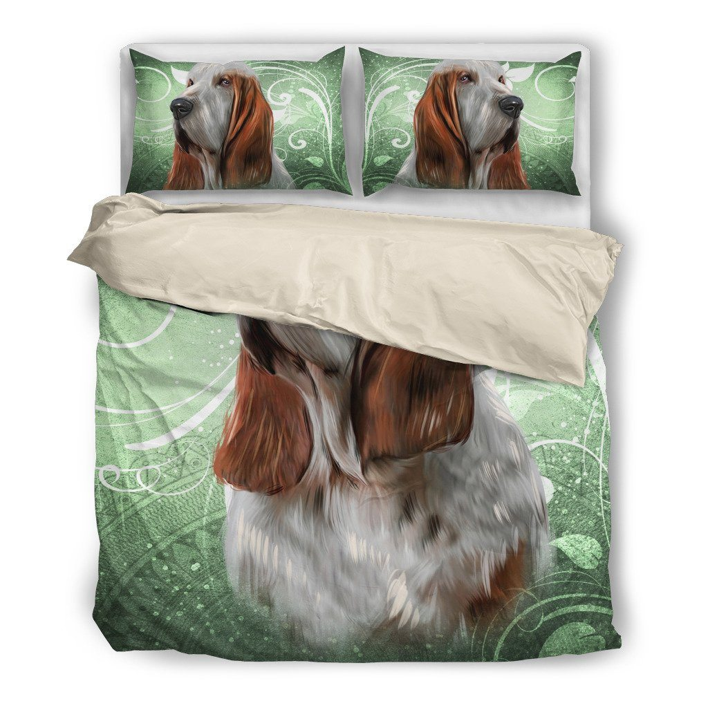 Dog Basset Hound Bedding Set  (Free Shipping + 2 Matching Covers) - ONLINEPRESALES