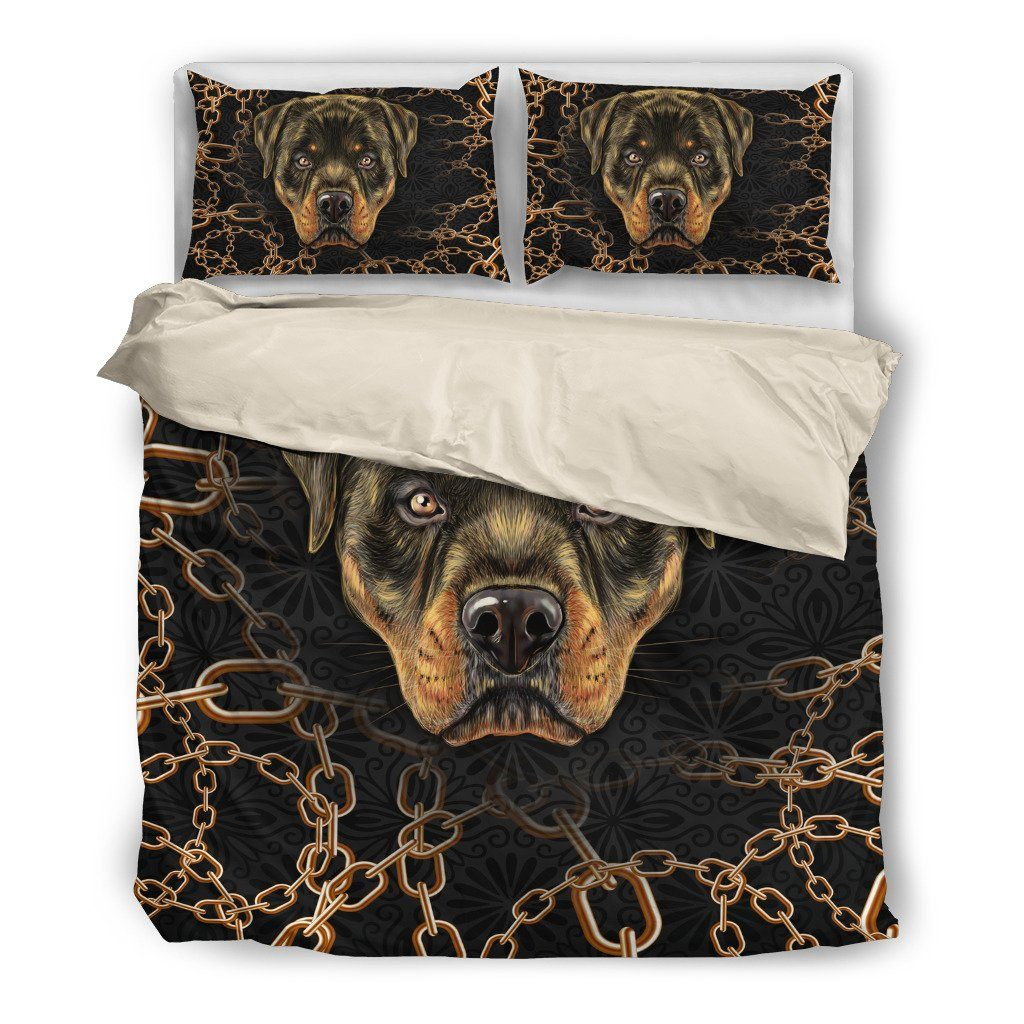 Rottweiler Lover 4  Bedding Set(Free Shipping + 2 Matching Covers)