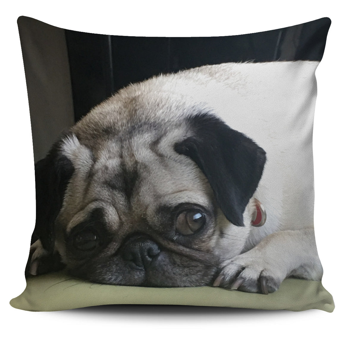 Pug Sophie Themed Pillow Cover