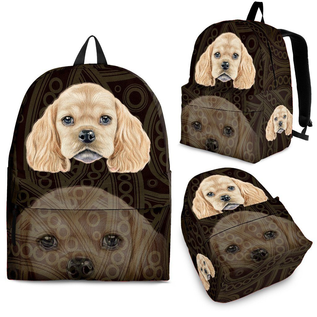 American Cocker Spaniel Backpack - ONLINEPRESALES