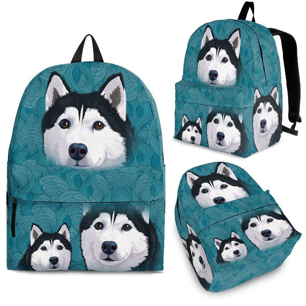 Blue Husky Backpack