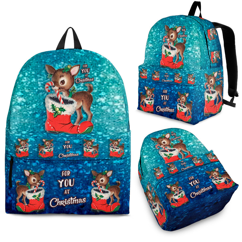 For You at Christmas Backpack