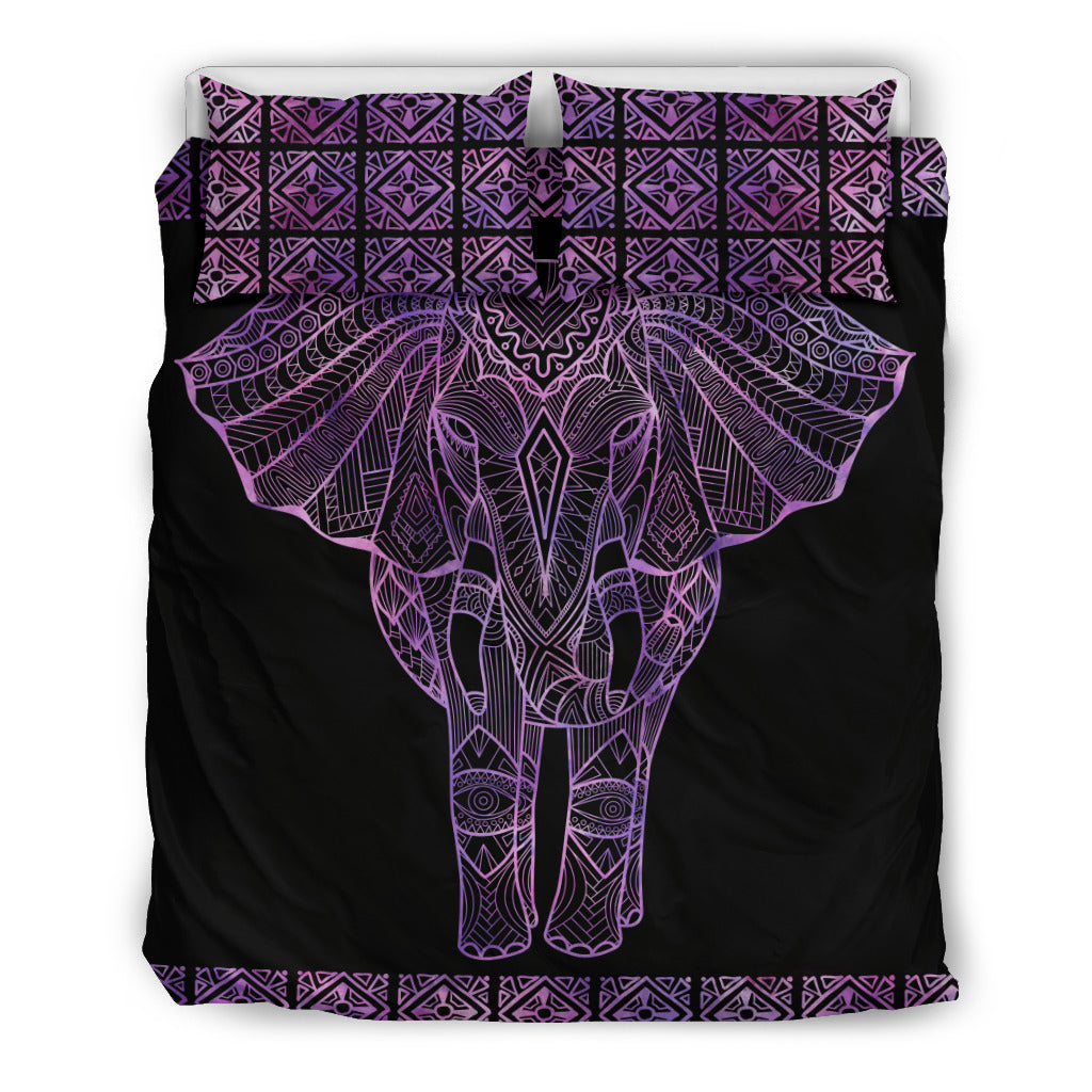Eyes of an Elephant Design Bedding Set Hypoallergenic Duvet Cover Microfiber Twin/Queen/King Size Bed Sheet with 2 Pillow Covers