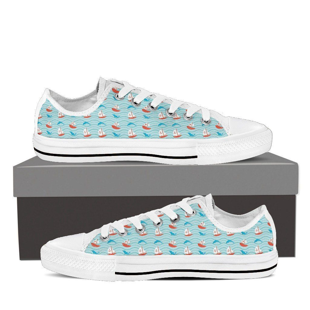 Dolphin 2 Low Tops Shoes Available in Men's and Women's Sizes