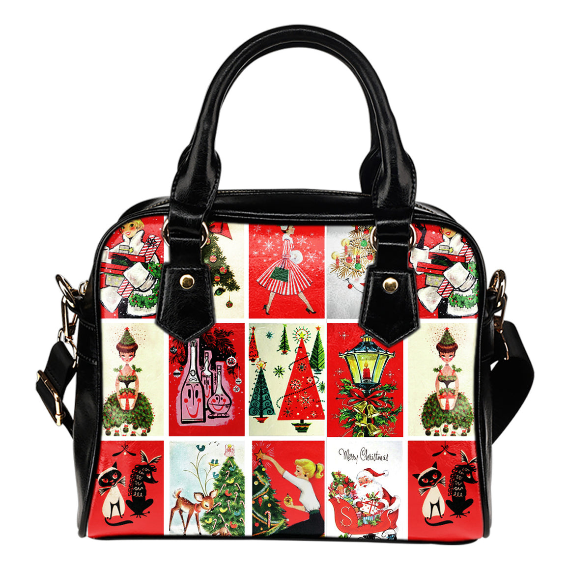 Happy CHRISTMAS Shoulder Bag