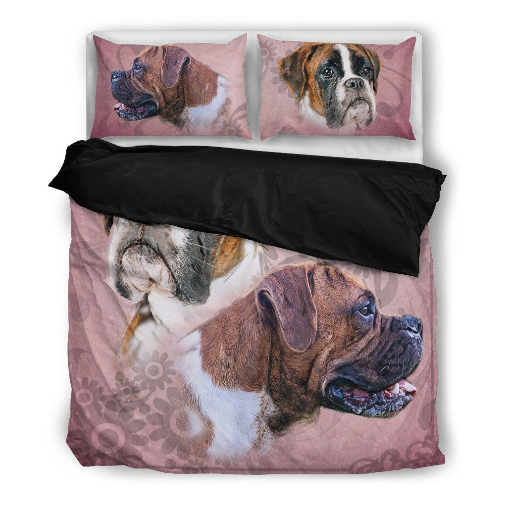 Boxer Bedding Set (Free Shipping + 2 Matching Covers)