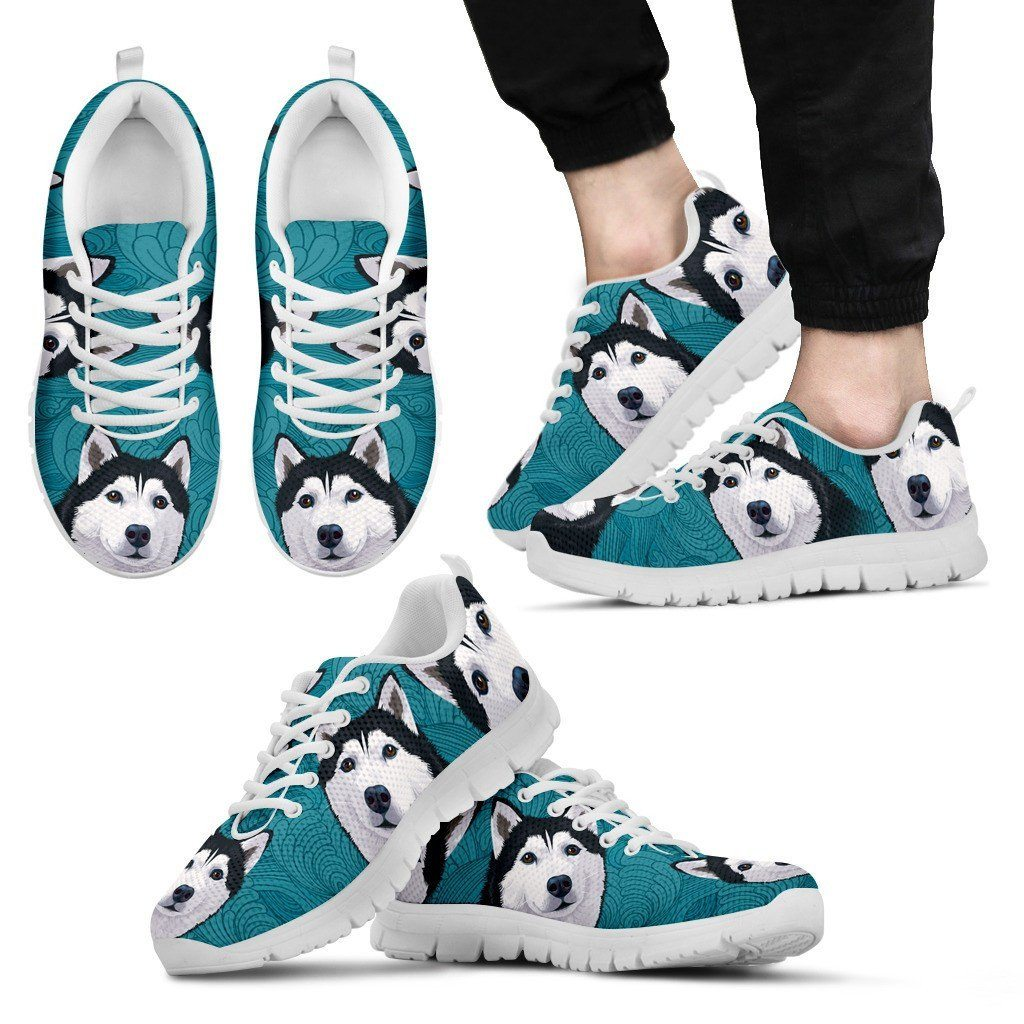 Blue Husky Sneakers