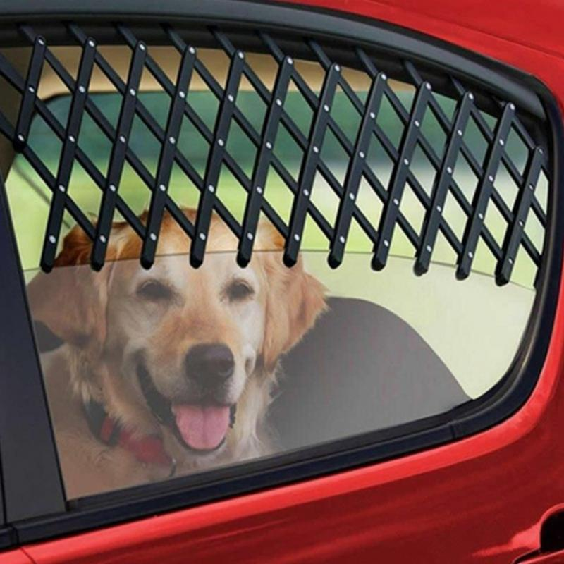 EXPANDABLE DOG WINDOW GUARD GATE VENT