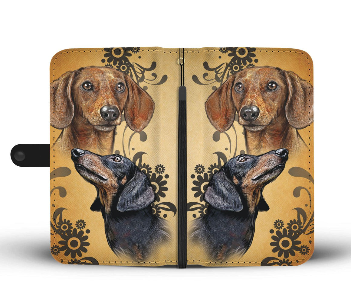 Hand Crafted Dachshund Love Wallet