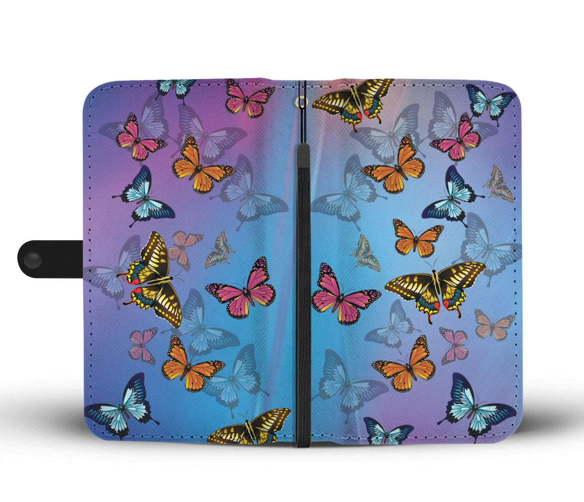 Hand Crafted Butterfly Wallet Case
