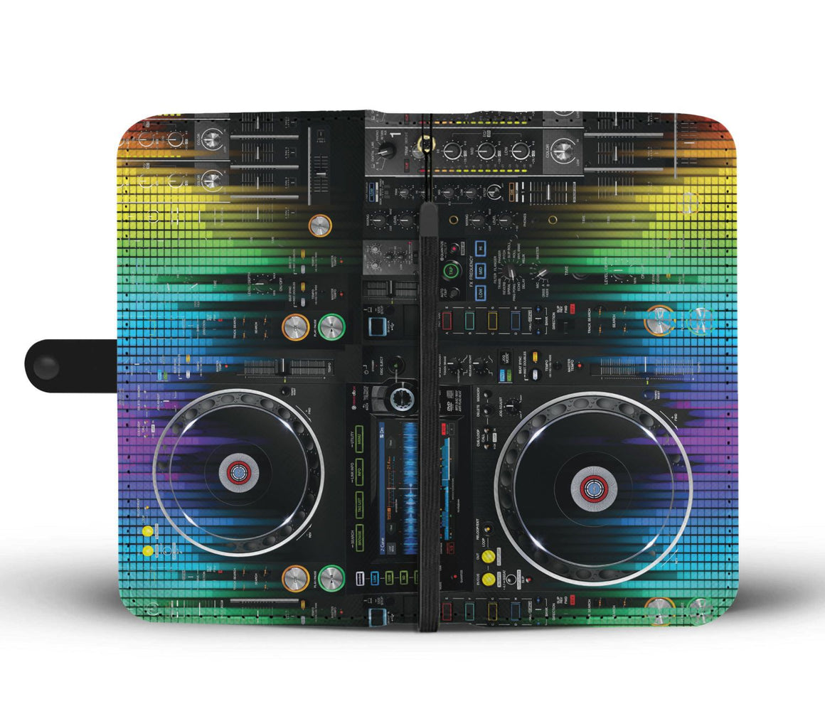 Hand Crafted DJ Wallet Case