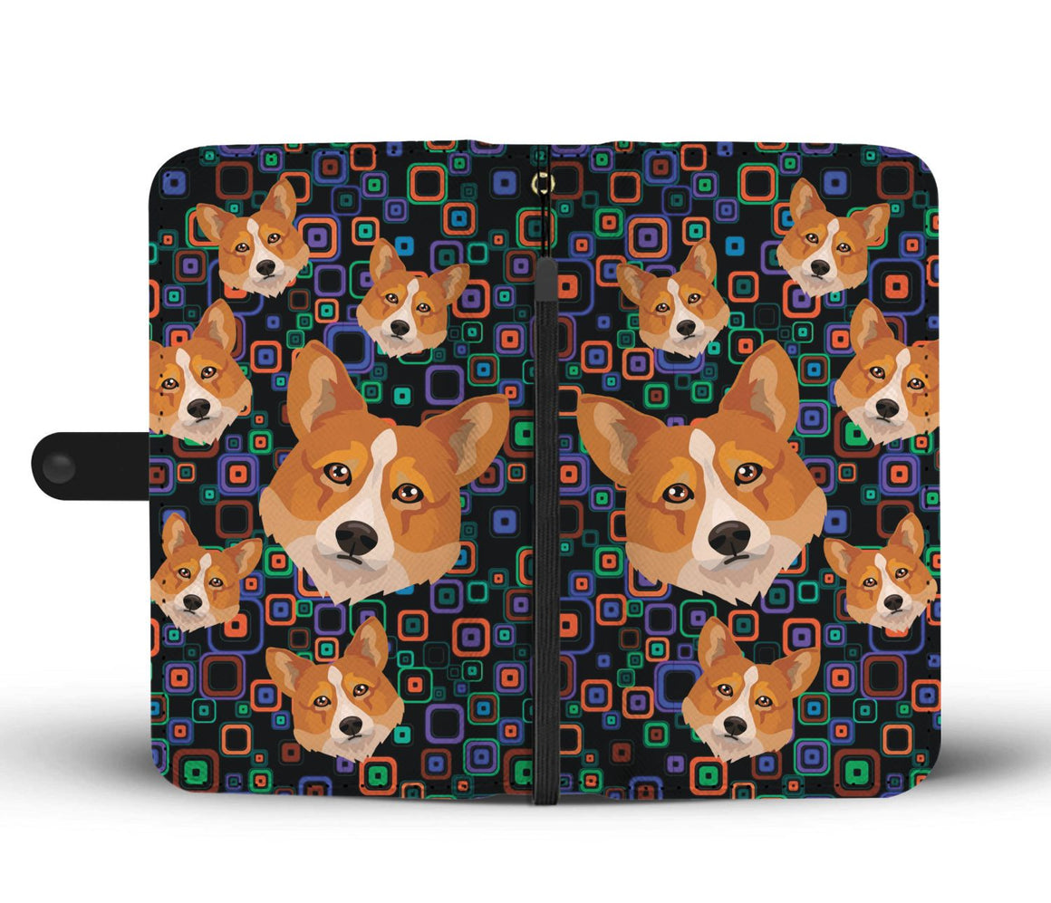 Hand Crafted Welsh Corgi Wallet Case