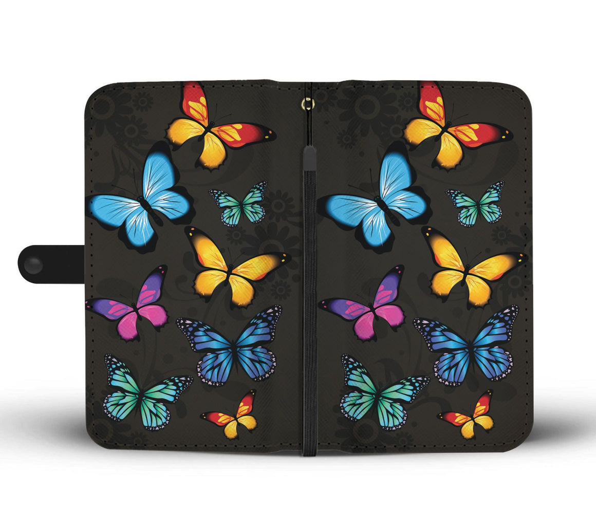 Hand Crafted Butterfly Lover Wallet Case