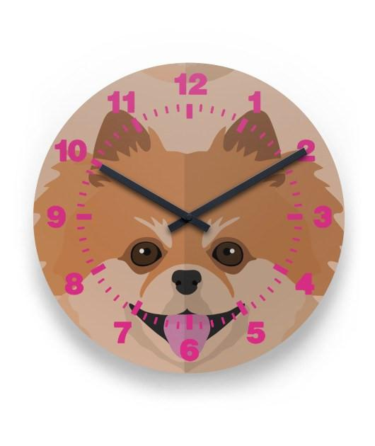 Pomeranian Lover Wall Clock