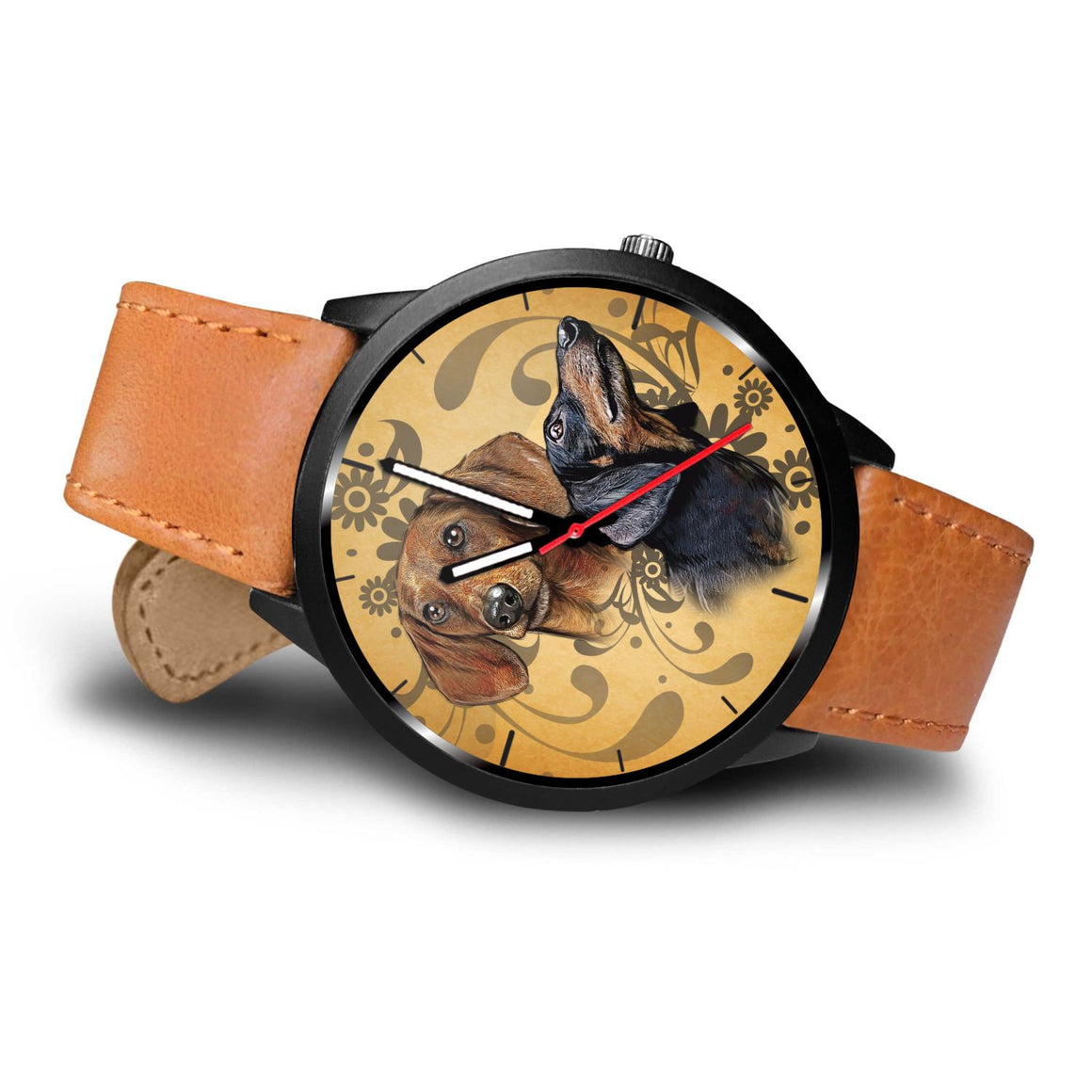 Dachshund Love Themed Watch
