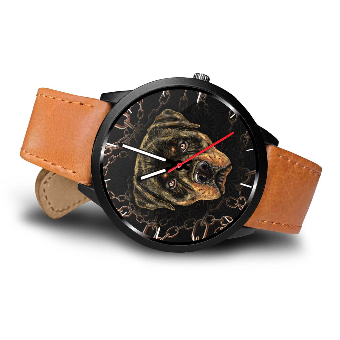Rottweiler Themed Watch
