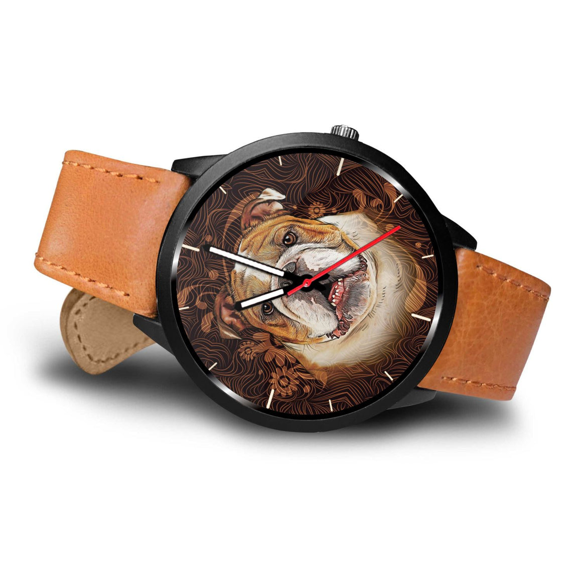 Bulldog Themed Watch