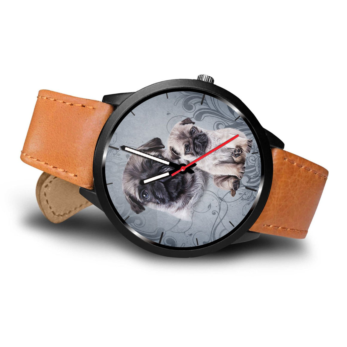 Pug Themed Watch