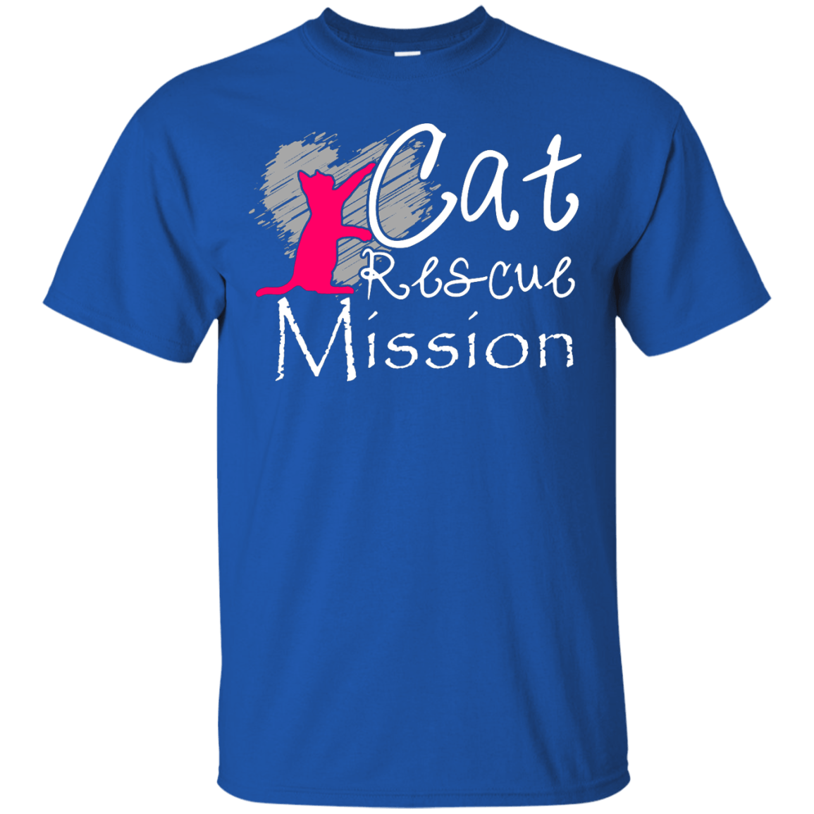 Cat Rescue Mission themed T-Shirts and Hoodies for Men and Women