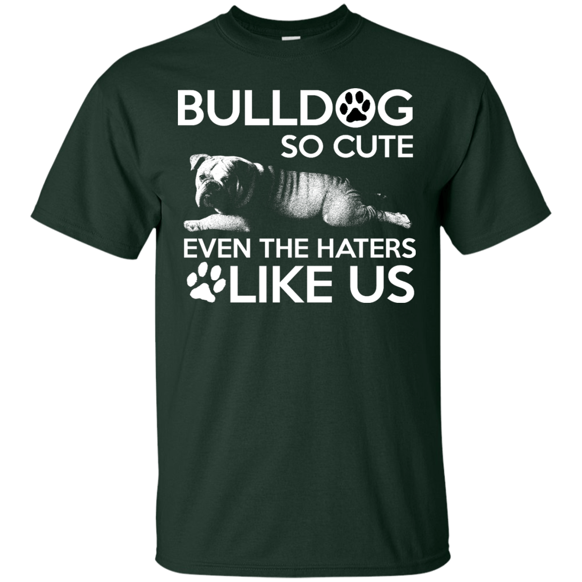 Bulldog So Cute - ONLINEPRESALES