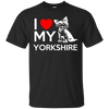 I Love My Yorkshire themed T-Shirts and Hoodies for Men and Women