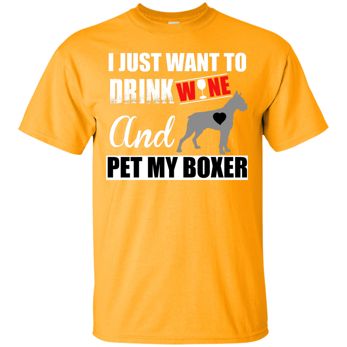 Pet My Boxer themed T-Shirts and Hoodies for Men and Women