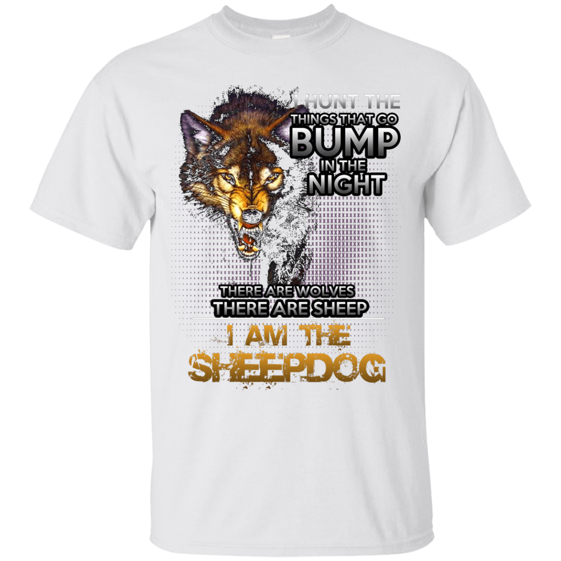 I am the Sheepdog themed T-Shirts and Hoodies for Men and Women
