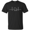 Pug Heart Beat themed T-Shirts and Hoodies for Men and Women