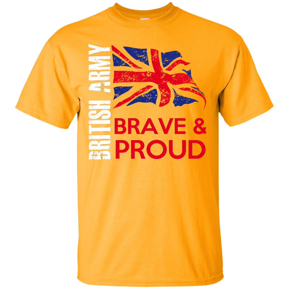 British Army themed T-Shirts and Hoodies for Men and Women