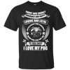 I Love My Pug 2 themed T-Shirts and Hoodies for Men and Women