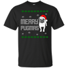 Merry Pugmas themed T-Shirts and Hoodies for Men and Women