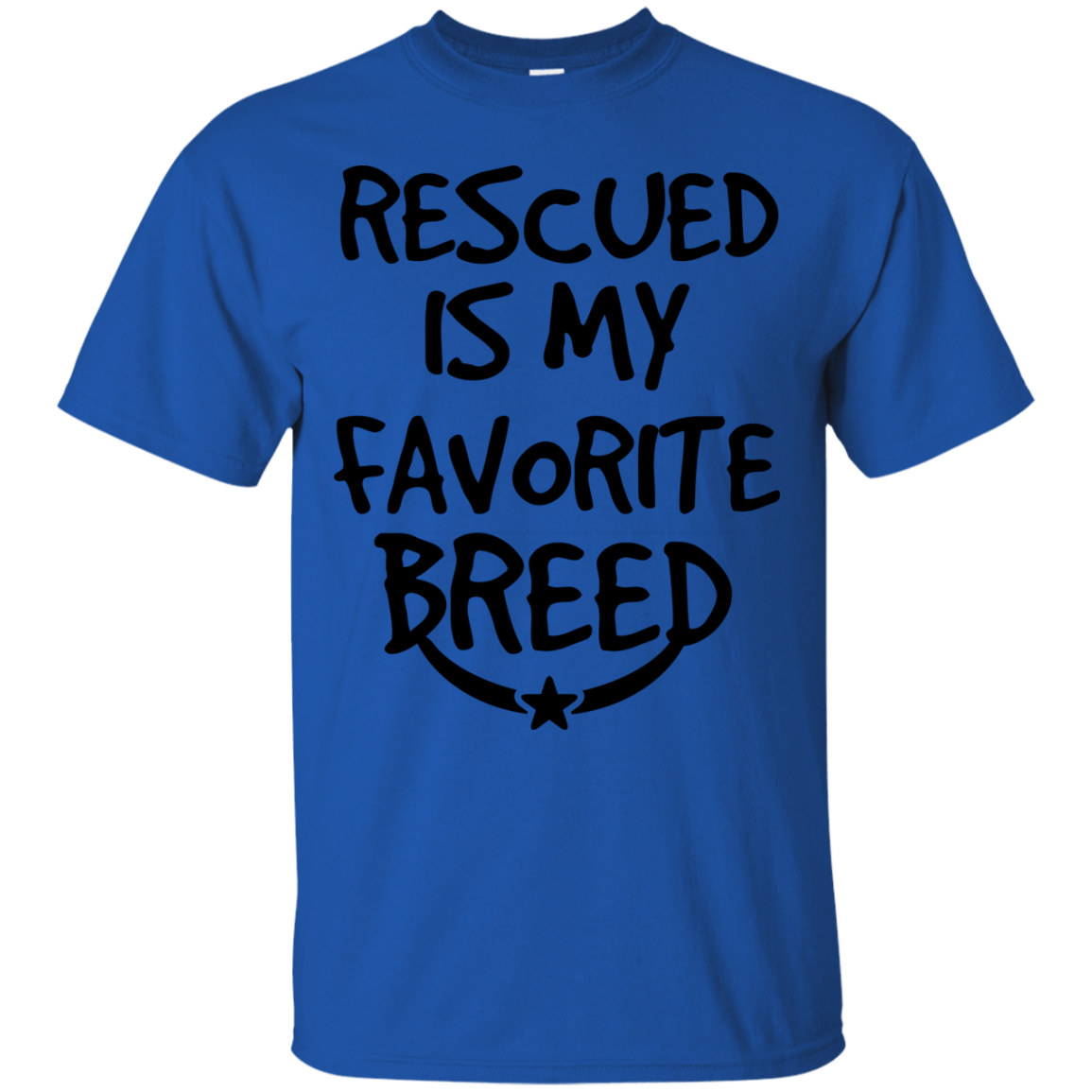 Rescue Breed themed T-Shirts and Hoodies for Men and Women