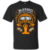 Blessed Are The Flexible themed T-Shirts and Hoodies for Women and Men