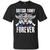 British Army Forever themed T-Shirts and Hoodies for Men and Women