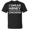 I Swear Honey Black Custom Ultra Cotton T-Shirt