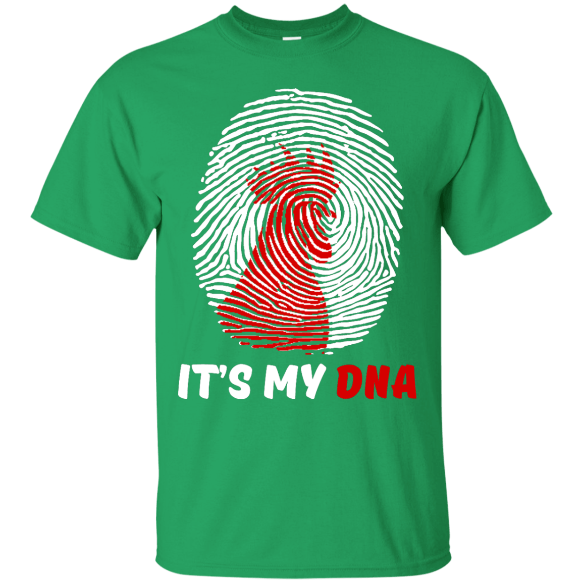 It's My DNA Black Custom  Ultra Cotton T-Shirt