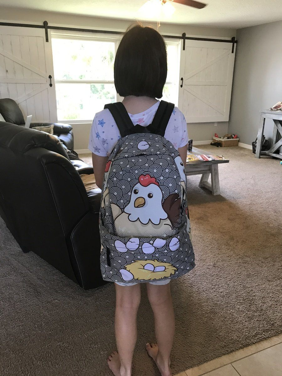 Chicken Eggs Backpack