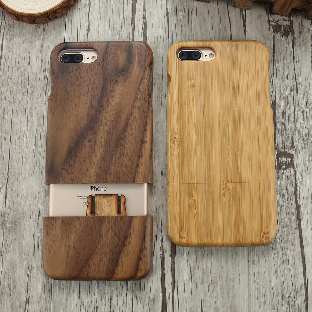 finest selection 994ad 0bb74 Buy Wood Phone Case For iPhone 7 Plus and iPhone7: Accessories | Accessories