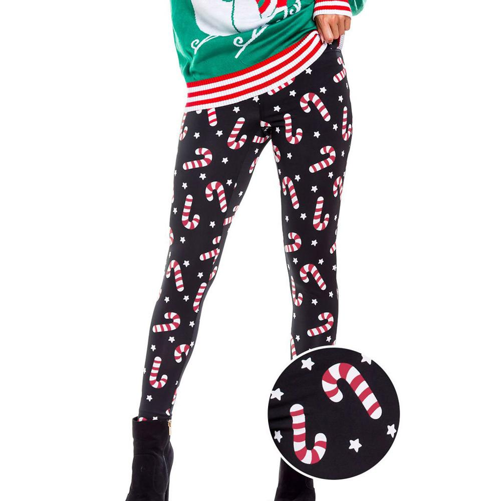 Hannah line of Christmas and Holiday Leggings Polyester