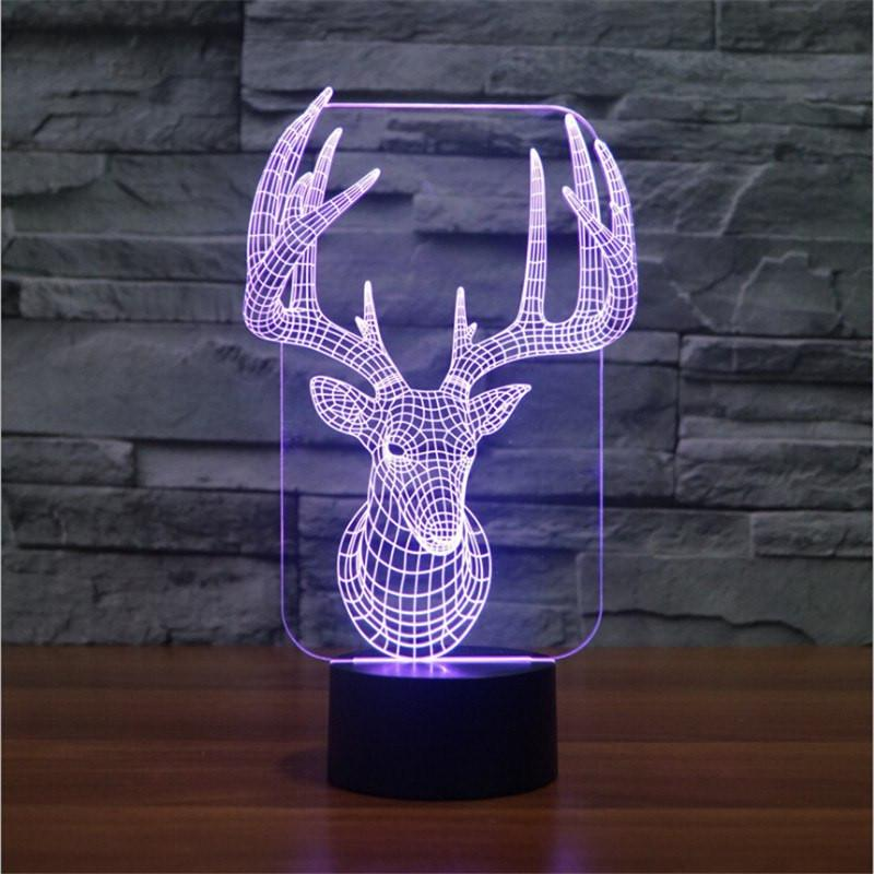 3D Moose LED Lamp - ONLINEPRESALES